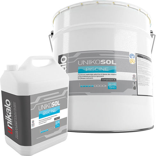 Unikosol piscine finitions sol peintures pour sol - Peinture piscine polyester ...