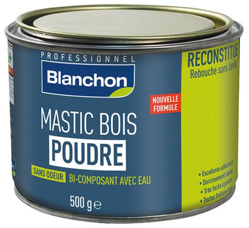 mastic bois poudre p tes mastics mastics enduits. Black Bedroom Furniture Sets. Home Design Ideas